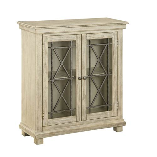 Knob Hill Burnished Ivory Two Door Cabinet