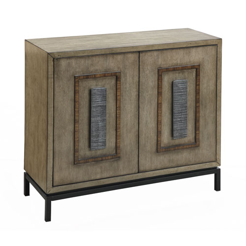 Burnished Driftwood Two Door Cabinet