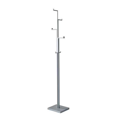 Nickel Brushed Coat Racks And Umbrella Stands Free Shipping Bellacor Cool Nickel Coat Rack