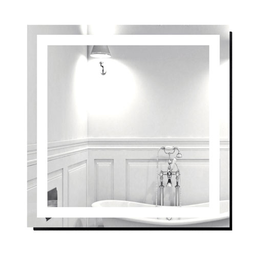 Creators Inc. Malisa 30 x 30-Inch Lighted Mirror by Civis USA