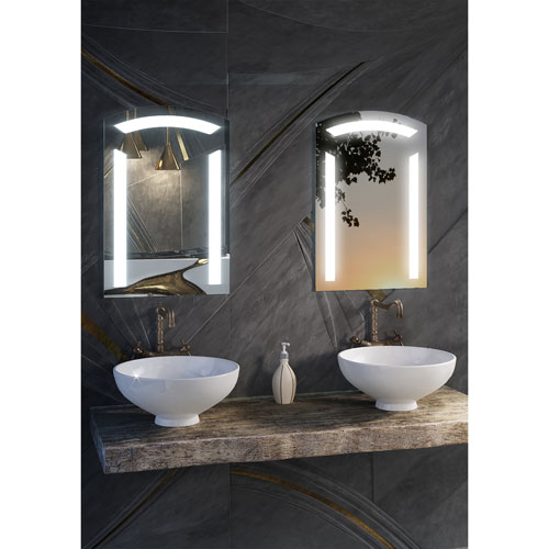 Sara 20 x 24-Inch LED Lighted Wall Mirror by Civis USA