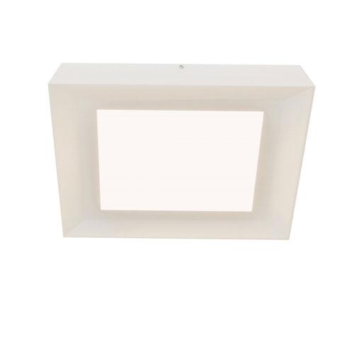 Zurich White 15-Inch LED Energy Star Flush Mount