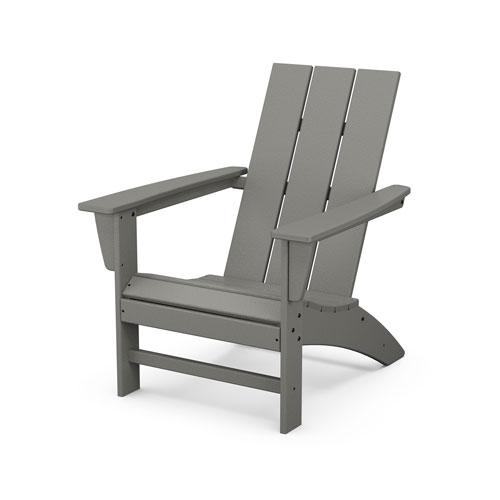Slate Grey Modern Adirondack Chair