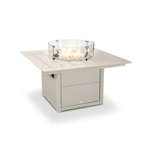 Square Sand 42-Inch Fire Pit Table