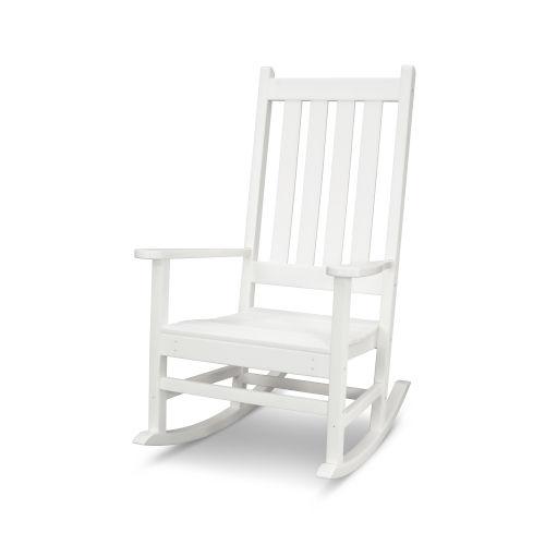 Vineyard White Porch Rocking Chair