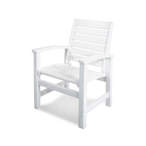 POLYWOOD® Signature Dining Chair in White