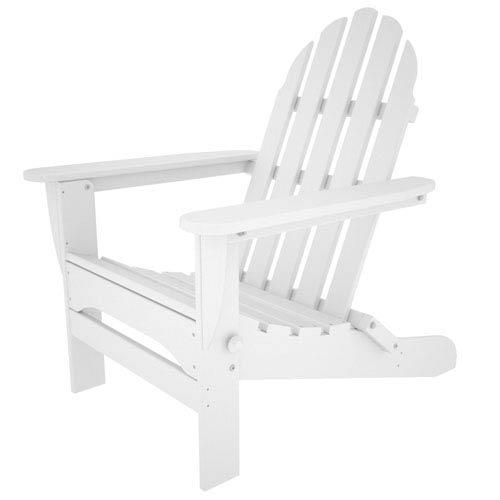 Classic Adirondack White Chair