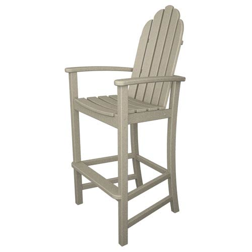 POLYWOOD® Adirondack Dining Sand Bar Height Chair