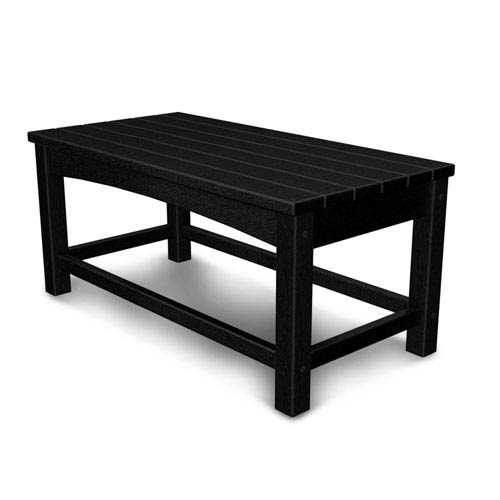 Black Club Coffee Table