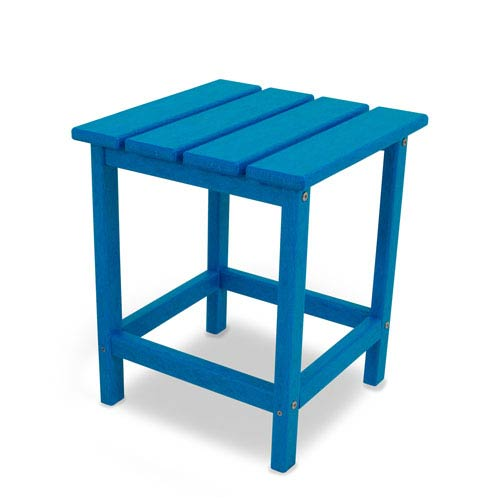 Long Island Adirondack Pacific Blue 18 Inch Side Table