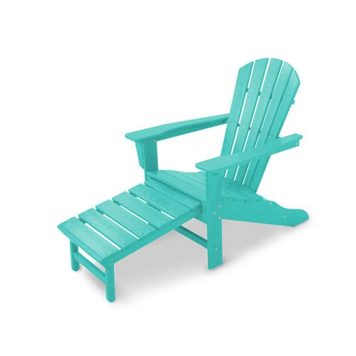 South Beach Aruba Ultimate Adirondack with Hideaway Ottoman