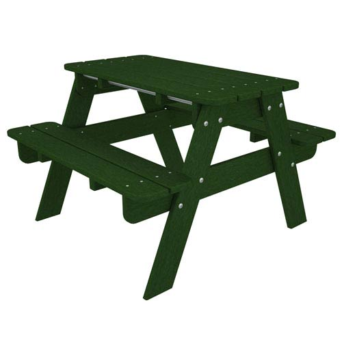 Kid Green Picnic Table