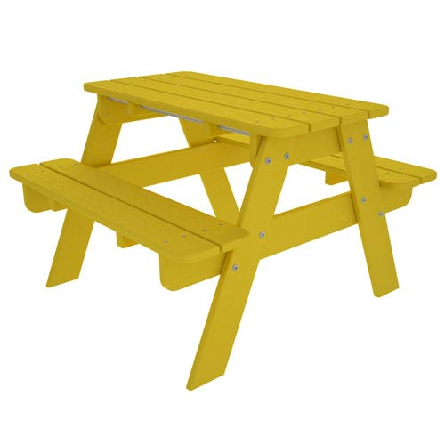 Kid Lemon Picnic Table