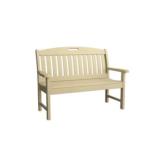 Nautical Sand 48 Inch Bench