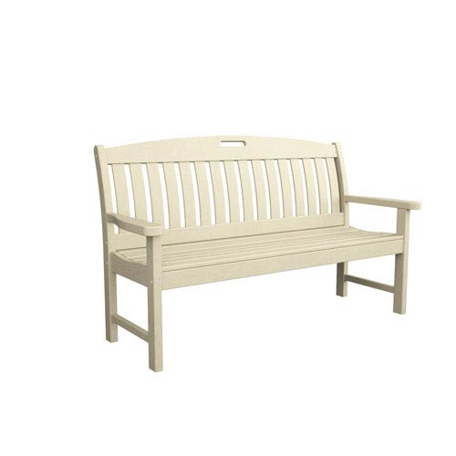 Nautical Sand 60 Inch Bench