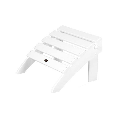 POLYWOOD® Classic Folding Ottoman in White