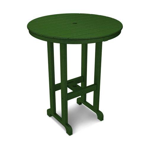 La Casa Café Green Round 36 Inch Bar Height Table