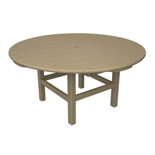 Sand Round 38 Inch Conversation Table