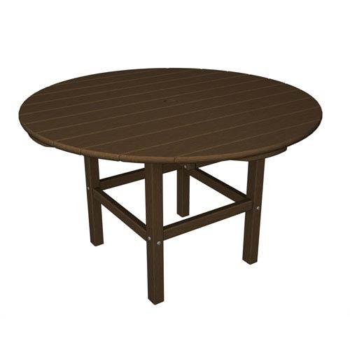 POLYWOOD® Kid Teak 38 Inch Dining Table