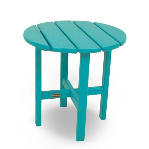 Aruba Round 18 Inch Side Table