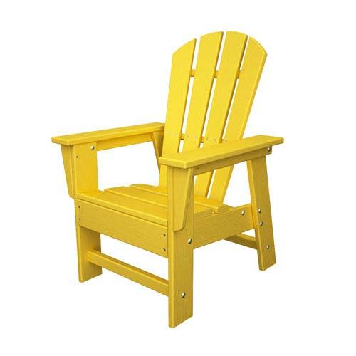 POLYWOOD® South Beach Adirondack Lemon Kid Chair