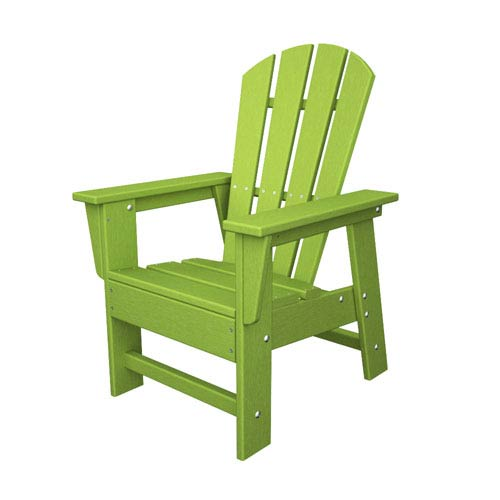 Swell South Beach Adirondack Lime Kid Chair Squirreltailoven Fun Painted Chair Ideas Images Squirreltailovenorg