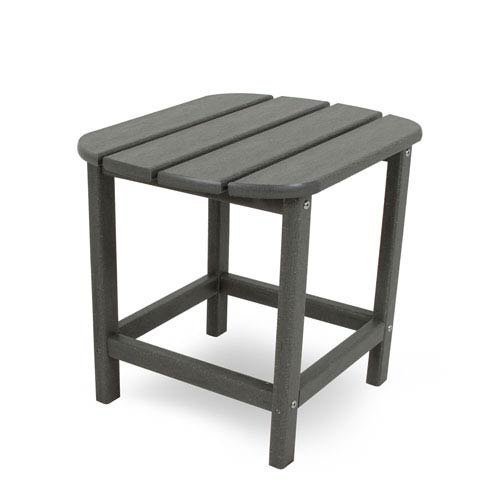 South Beach Adirondack Slate Grey 18 Inch Side Table