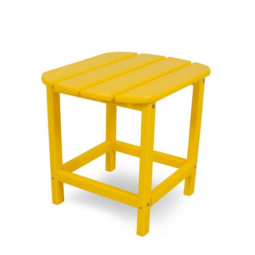 South Beach Adirondack Lemon 18 Inch Side Table