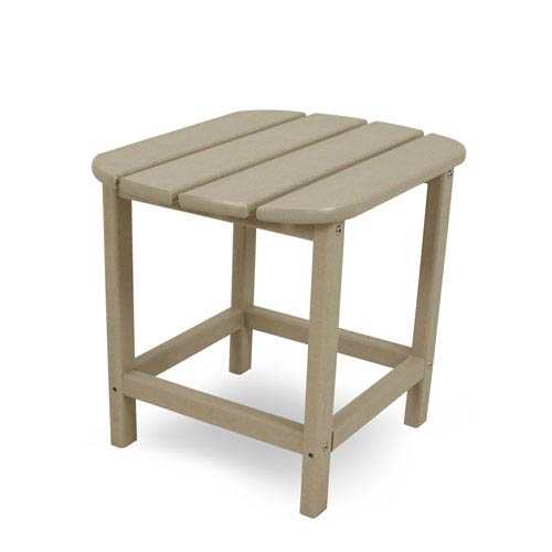 South Beach Adirondack Sand 18 Inch Side Table