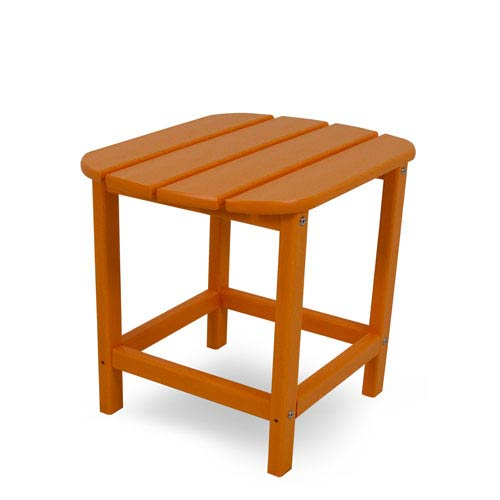South Beach Adirondack Tangerine 18 Inch Side Table