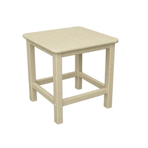 Seashell Adirondack Sand 18 Inch Side Table