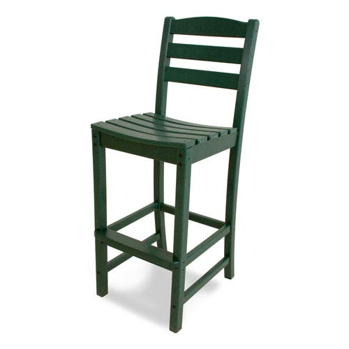 La Casa Café Green Bar Height Side Chair