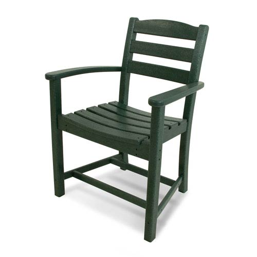 La Casa Café Green Dining Arm Chair