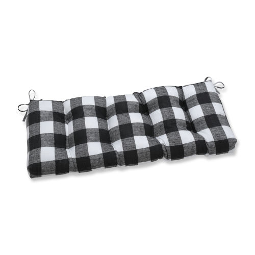 Anderson Black White 48-Inch Bench Cushion