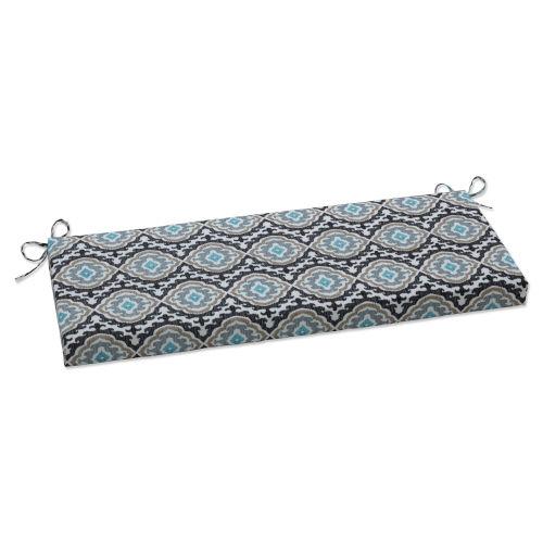 Agrami Black Tan Gray Bench Cushion