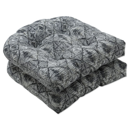 Nesco Black Tan Off-White Seat Cushion, Set of Two