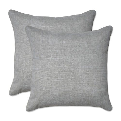 Tory Tan 18-Inch Throw Pillow, Set of Two