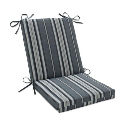 Terrace Gray Natural Off-White Chair Cushion