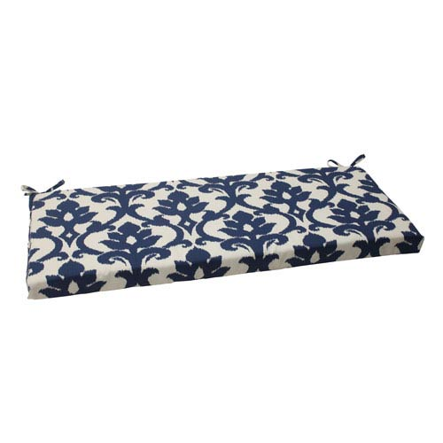 Pillow Perfect Outdoor Bosco Bench Cushion in Navy