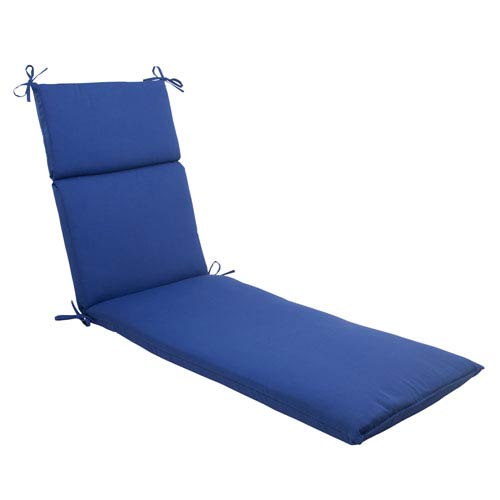 Outdoor Fresco Chaise Lounge Cushion in Navy