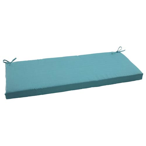 Outdoor Forsyth Bench Cushion in Turquoise