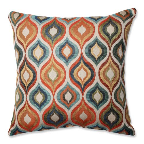 Pillow Perfect Flicker Jewel Multi Colored Pillow