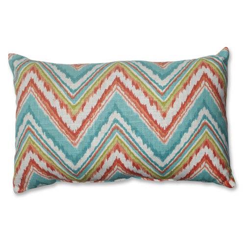 Chevron Cherade Rectangular Throw Pillow