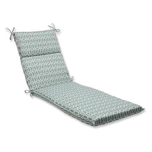Pillow Perfect Outdoor / Indoor Rhodes Quartz Chaise Lounge Cushion