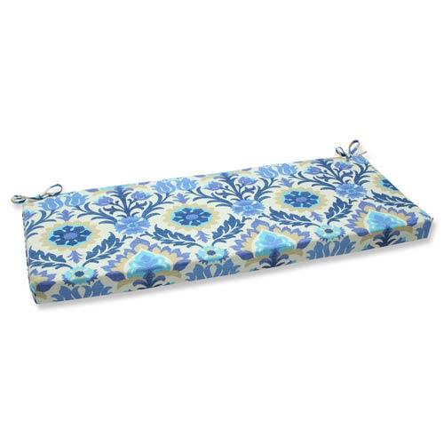Blue Outdoor Santa Maria Azure Bench Cushion