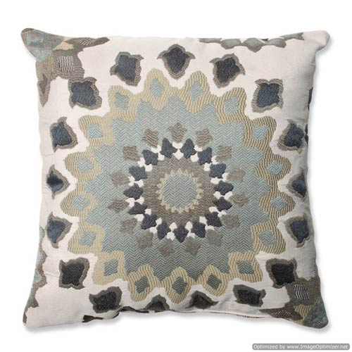 Pillow Perfect Marais English Garden Blue 16 5 Inch Square Throw
