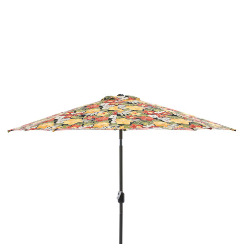 Clemens Noir 9-foot Patio Market Umbrella