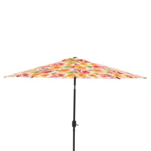 Primro Orange 9-foot Patio Market Umbrella