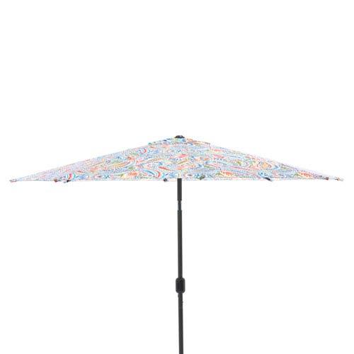 Ummi Multicolor 9-foot Patio Market Umbrella