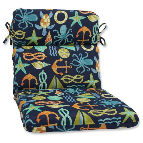 Seapoint Neptune Rounded Corners Outdoor Chair Cushion Cushion
